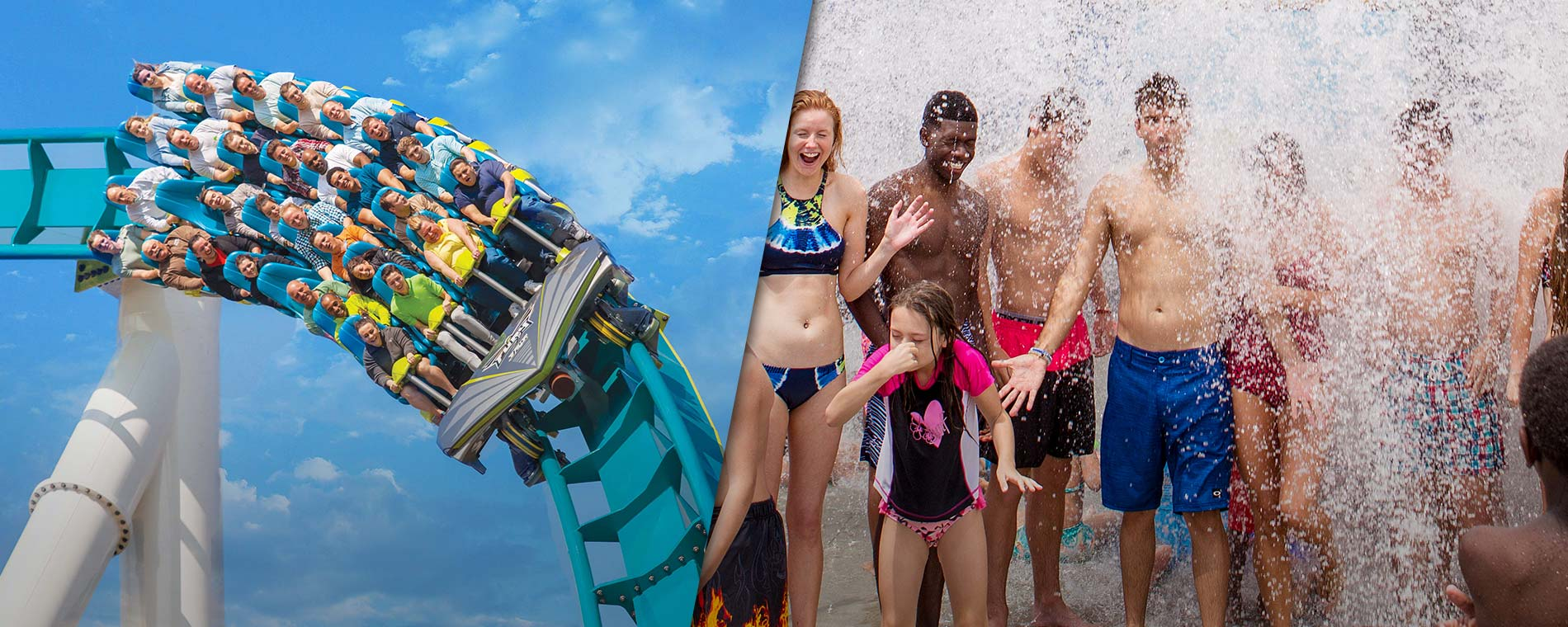Get access to Carowinds and Carolina Harbor for one low price.