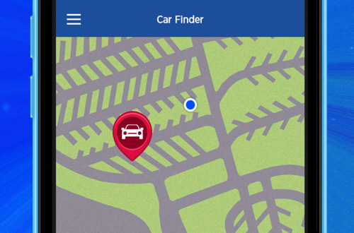 Carowinds Mobile App Car Finder