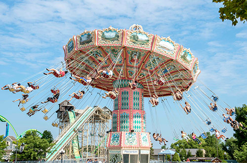 Carowinds WinterFest Come for the Rides