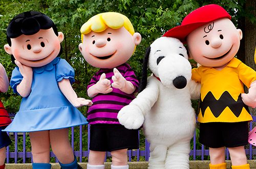 Peanuts Character Photos