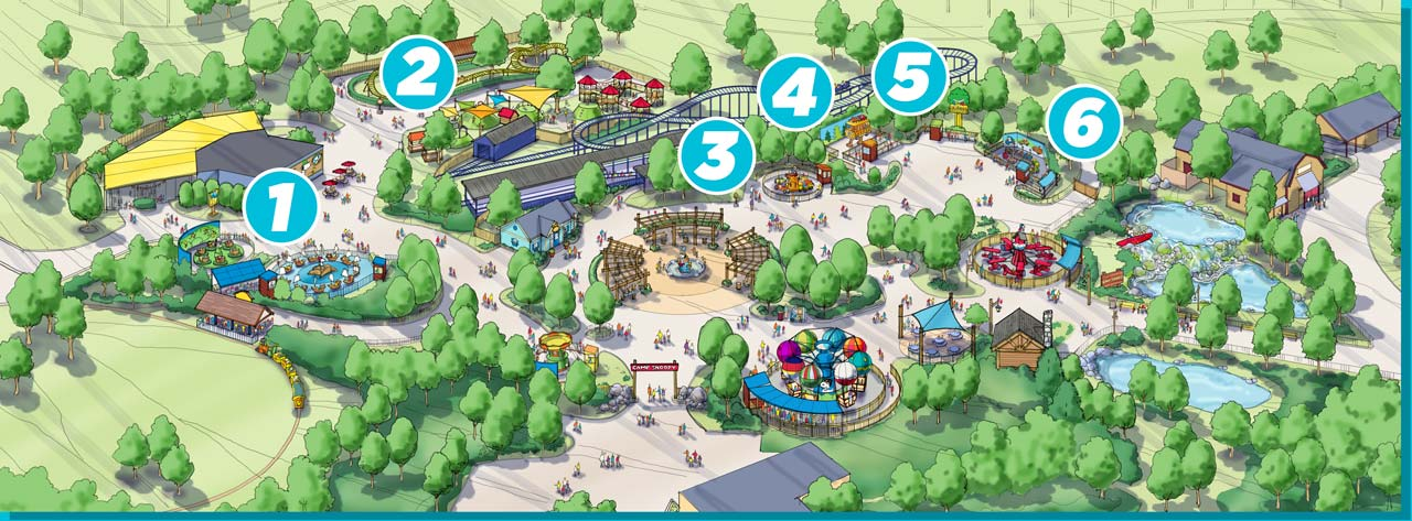 Carowinds 2018: Camp Snoopy - Other Amusement Parks & Industry News