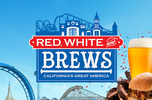 California's Great America Introduces Red, White & Brews
