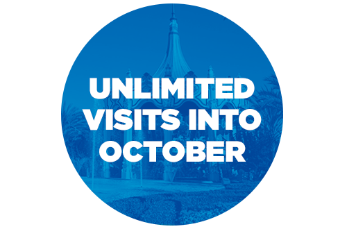 Unlimited Visits Into October