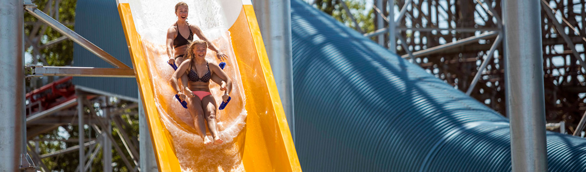 Water Park Slides & Attractions at Cedar Point