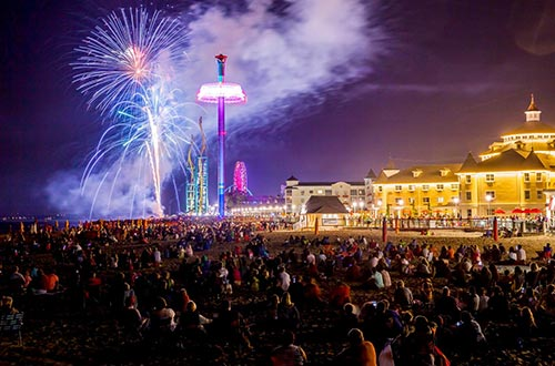 Light Up the Point - Events | Cedar Point