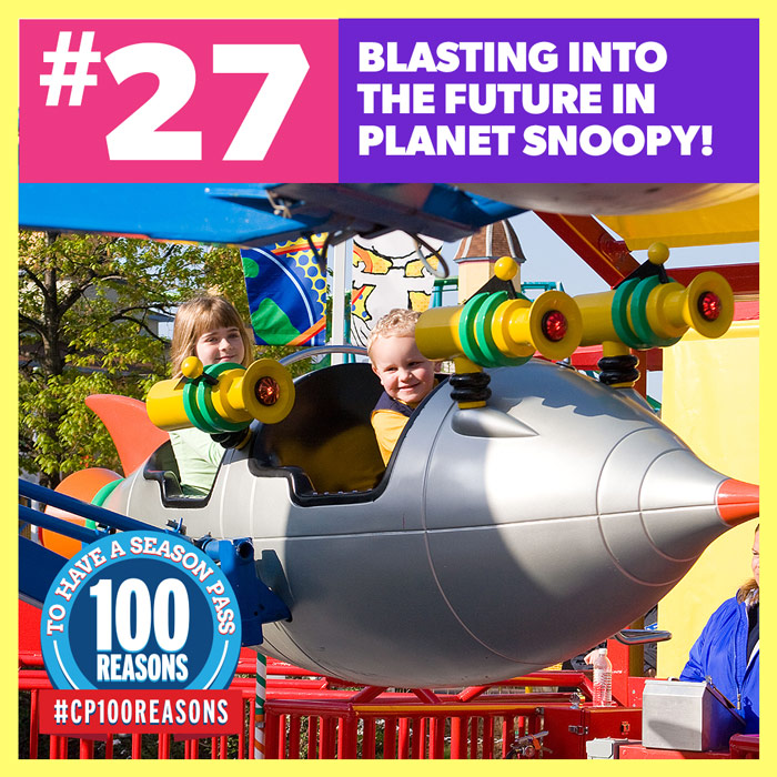 Blast Into the Future In Planet Snoopy