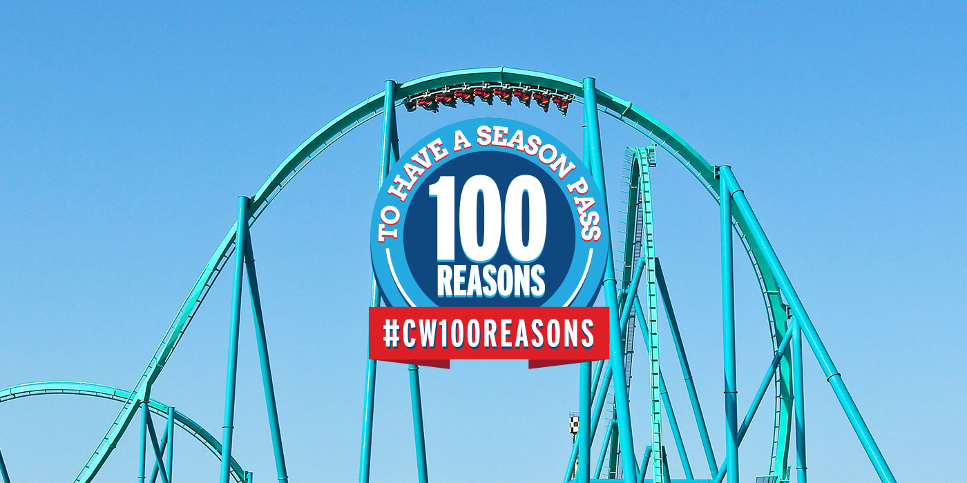 100 Reasons to Have a Canada's Wonderland Season Pass