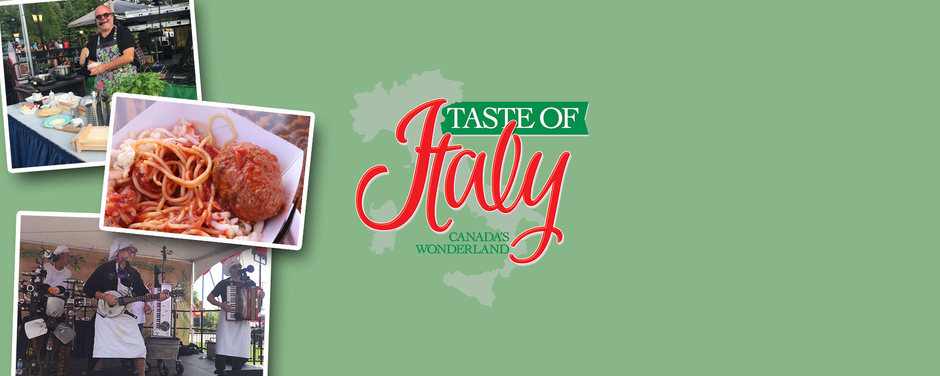 Taste of Italy at Canada's Wonderland