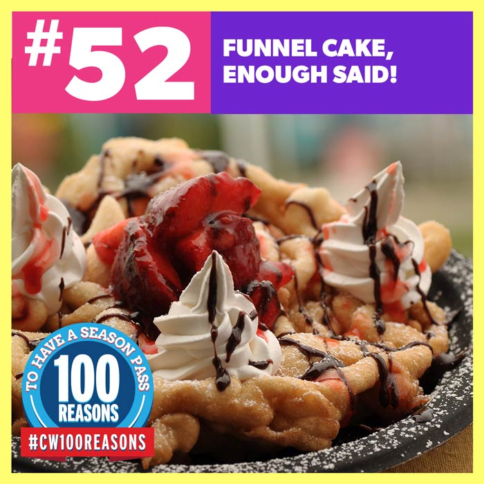 Funnel Cake, Enough Said!