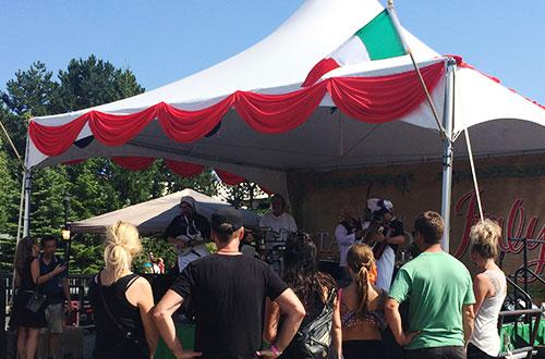 Performers - Taste of Italy at Canada's Wonderland