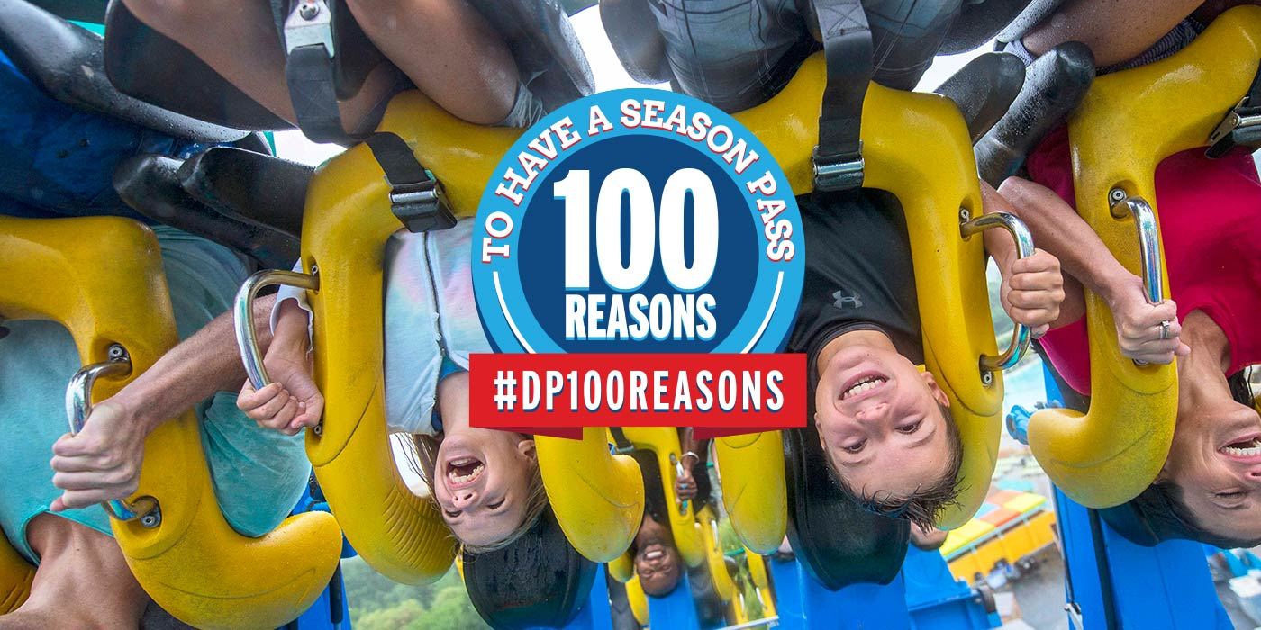 100 Reasons to Have a Season Pass to Dorney Park