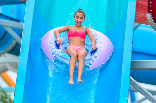 Wildwater Kingdom Slides and Attractions
