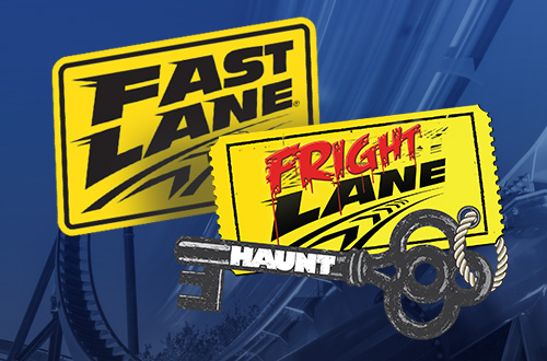 Kings Dominion Fast Lane & Fright Lane