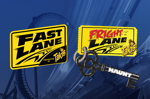 Kings Island Fast Lane & Fright Lane