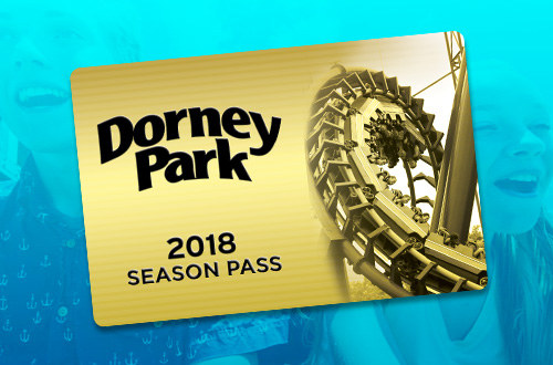 Fun for all ages! The Dorney Park Pre-K Pass grants complimentary admission to children ages 3 to 5 years old for the entire season. But hurry! It's only available for a limited time.