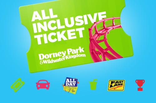 Dorney Park All Inclusive Ticket
