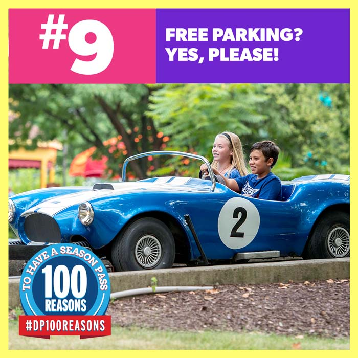 Free parking? Yes, please!