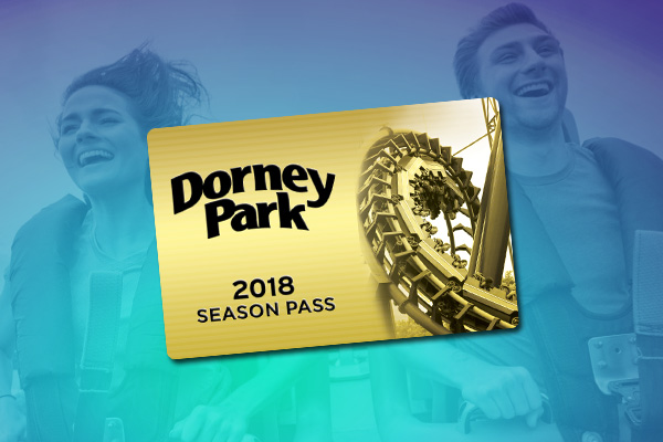 With a Season Pass, you can enjoy unlimited visits to Dorney Park & Wildwater Kingdom PLUS free season-long parking, early ride time, early access to Wildwater Kingdom, Bring-A-Friend discounts and more! Season Passes can be purchased online today for the lowest price of the season with 8 easy payments of $ after an initial down payment of $19 OR get your Season Pass for just $ .