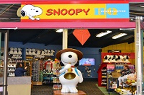 Knott's Berry Farm California Marketplace Snoopy Headquarters