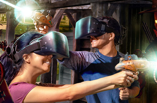 Knott's VR Showdown