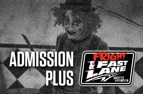 Scary Farm Admission + Fright & Fast Lane