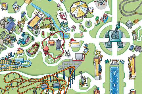Kings Dominion Driving Directions