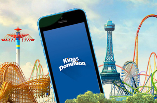 The new Kings Dominion mobile app will feature ride wait times, FunPix, exclusive offers and more!