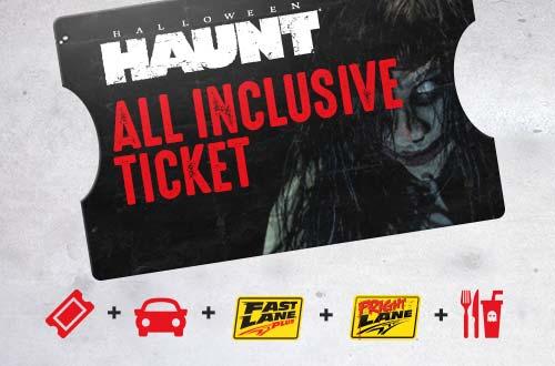 haunt all inclusive ticket - Halloween Haunt Schedule