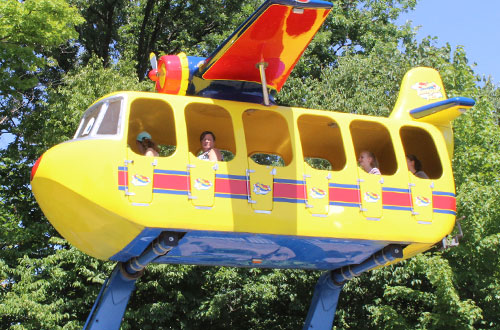 Kings Dominion Plane Snoopy Expansion Sally's Sea Plane
