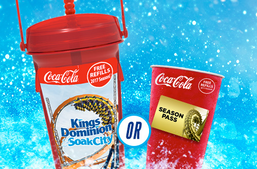Choose the All Season Souvenir bottle or go bottle-free and fill up with a new disposable cup every 15 minutes