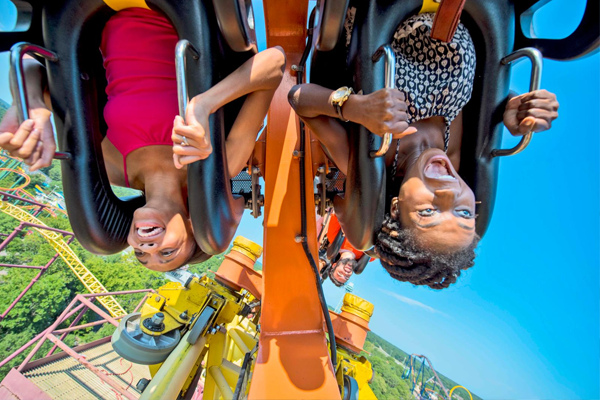 """Use discount code HAUNT04 online to get $ tickets! To redeem, go to the Corporate Partners page on Kings Dominion's website and enter the code.* Alternatively, make time to visit the Henrico County Recreation and Parks Department to score """"Fall Fun"""" Kings Dominion tickets for only $29! Other counties have similar discount."""