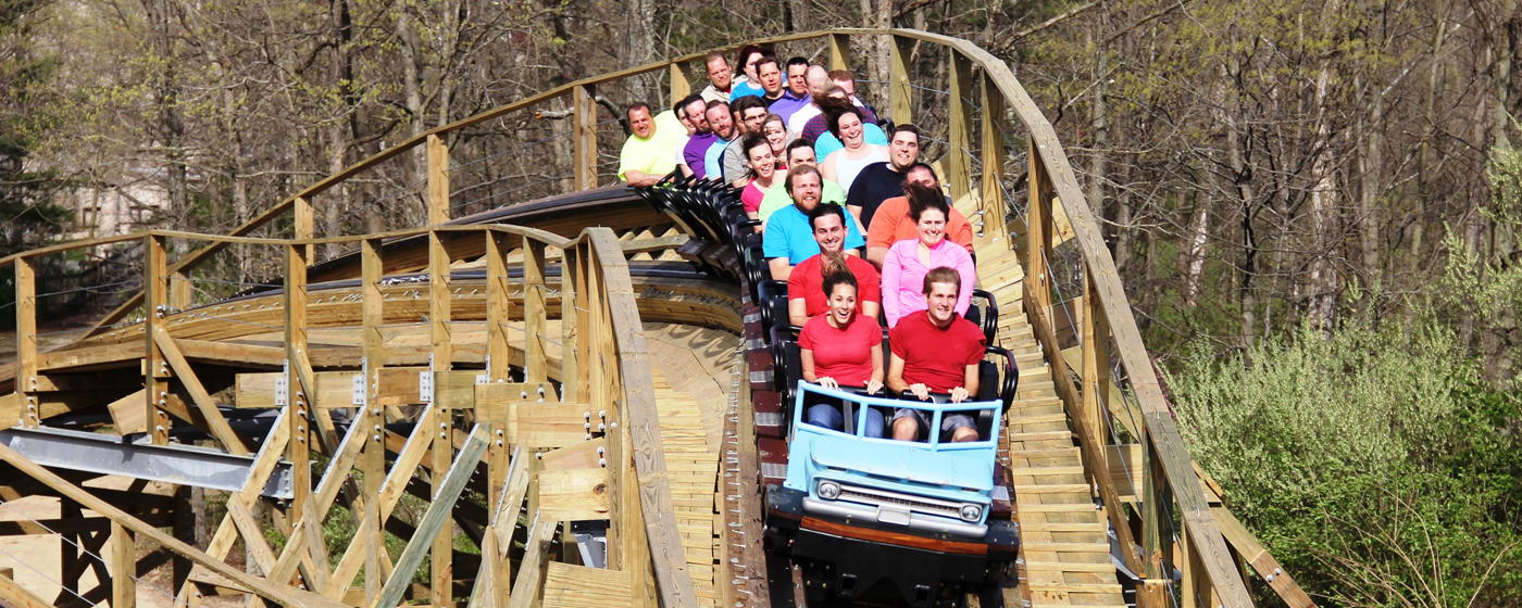 Pet Shed Promo Code By Ride Into The Unknown On Mystic Timbers Kings Island