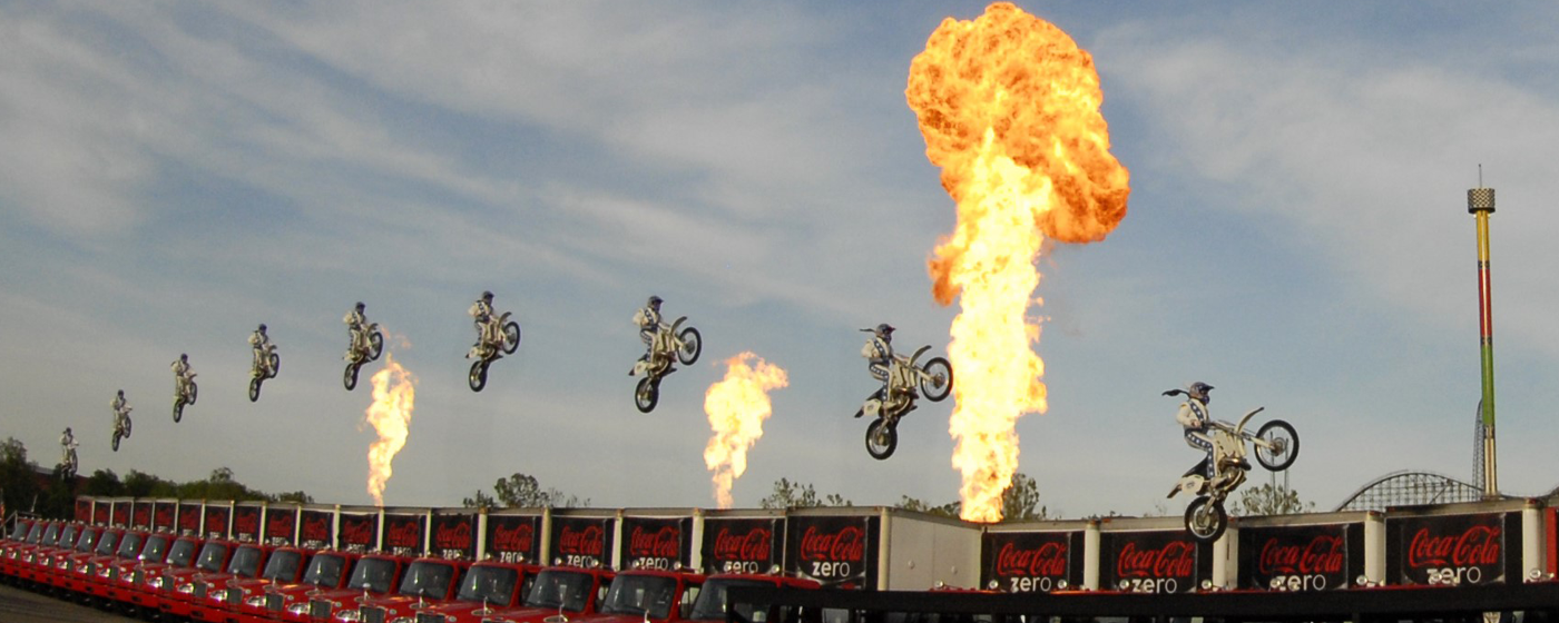 Murdercycles Evel Has Jumped The Shark: Evel Knievel's Record-breaking Jump