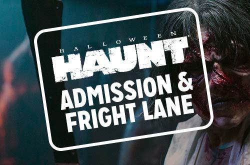 haunt admission fright lane - Halloween Haunt Schedule