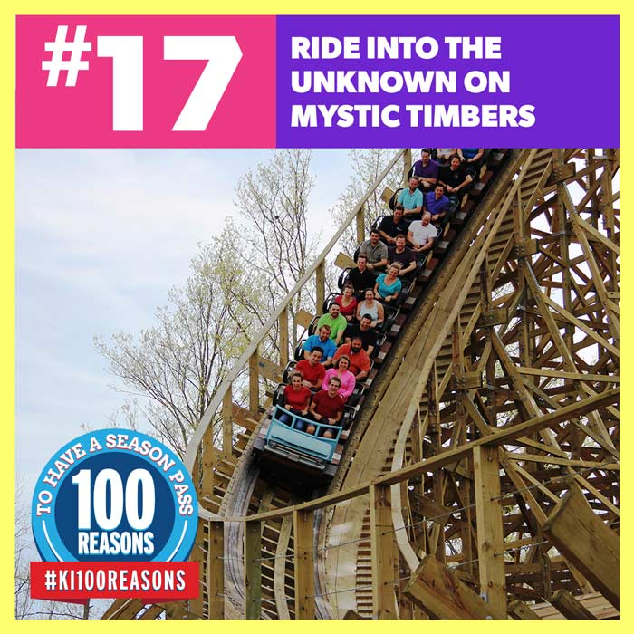Ride Into the Unknown on Mystic Timbers