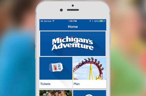 Michigan's Adventure Mobile App Buy Tickets