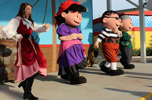 Charlie Brown's Pirate Adventure at Valleyfair's Great Pumpkin Fest