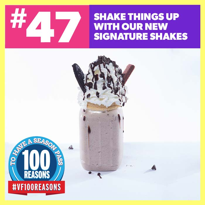 Shake things up with our new signature shakes.