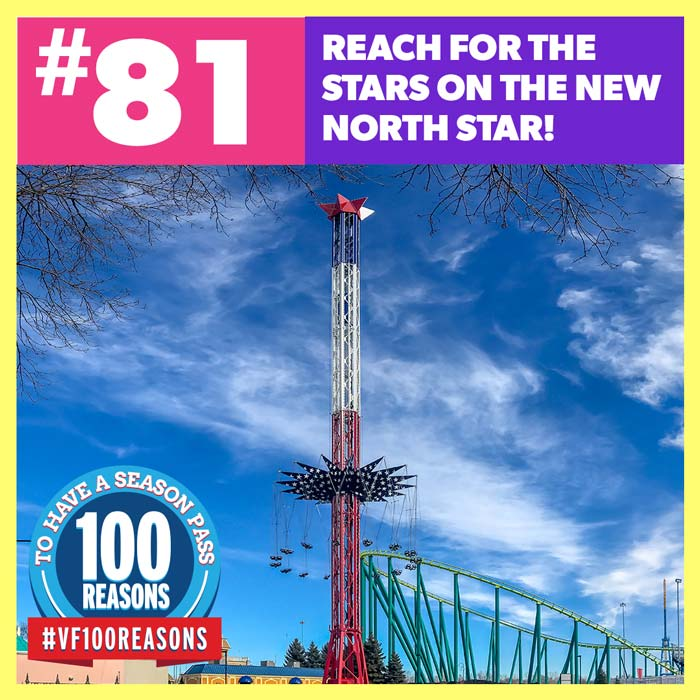 Reach for the stars on the new North Star!