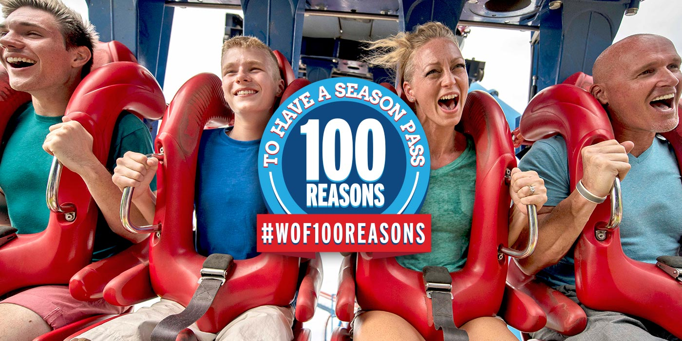 100 Reasons to Have a Worlds of Fun Season Pass