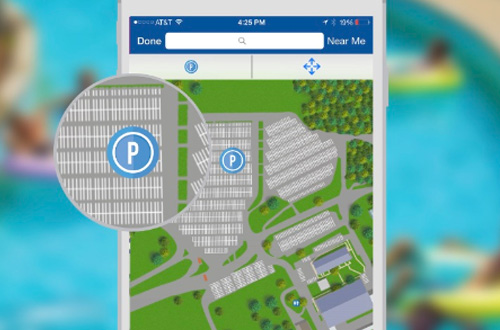 Worlds of Fun Mobile App Car Finder Parking