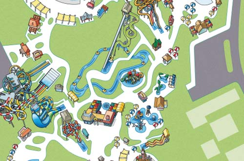 Oceans of Fun Park Map