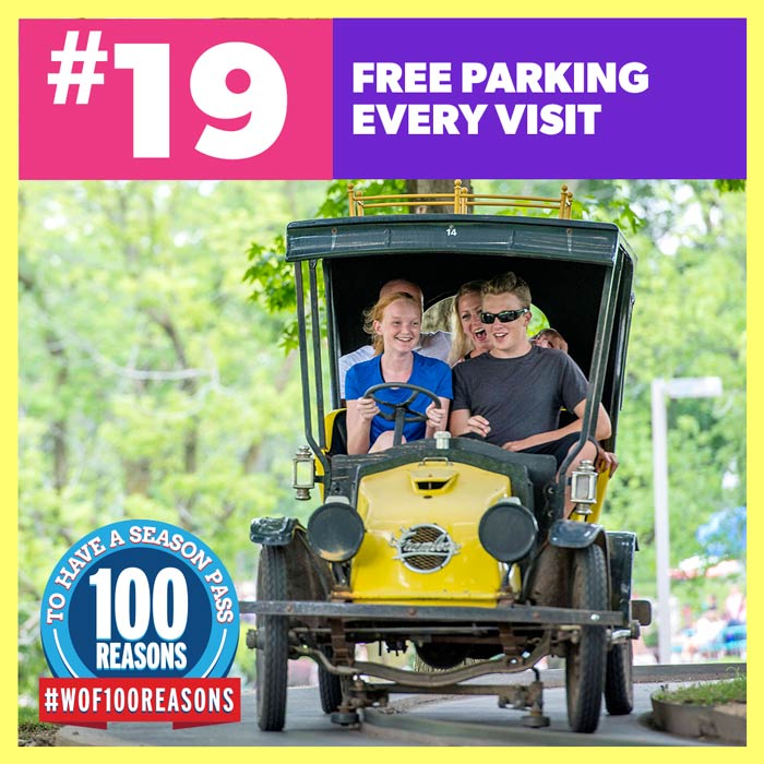 Free Parking Every Visit